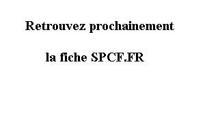 SPCF.FR : Fiche des logiciels répertoriés