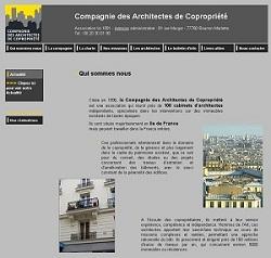 SPCF.FR : L'association - Compagnie des Architectes de Copropriété