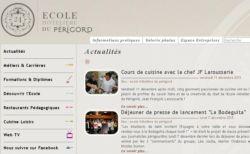 SPCF.FR : L'école hotelière du Périgord