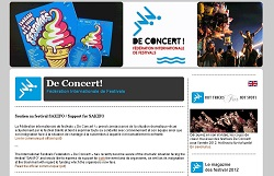 SPCF.FR : La Fédération internationale de festivals De Concert ! dans l'annuaire dans les festivals