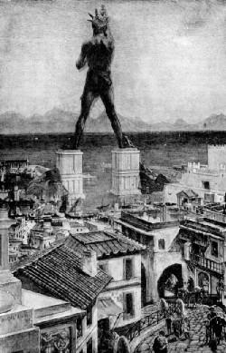 SPCF.FR : Illustration 3 du Colosse de Rhodes