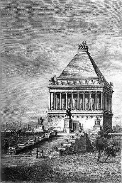 SPCF.FR : Illustration du Mausolé d'Halicarnasse