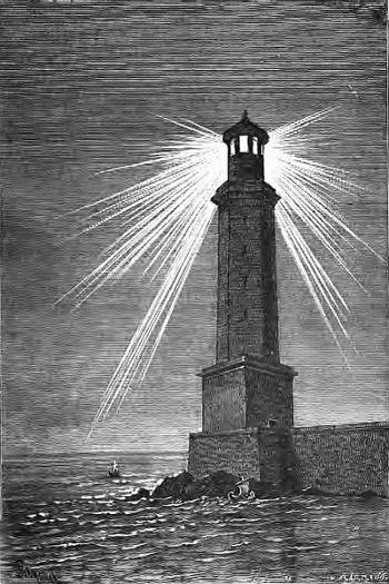 SPCF.FR : Illustration du phare d'Alexandrie