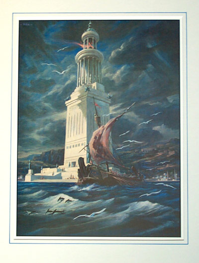 SPCF.FR : Le phare d'Alexandrie illustration 3