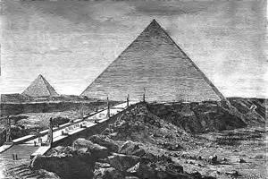 SPCF.FR : Illustration de la pyramide de Khéops