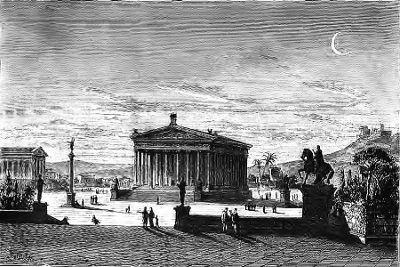 SPCF.FR : Illustration du temple d'Artémis