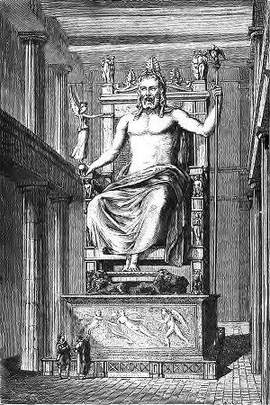 SPCF.FR : Illustration de la Statue de Zeus